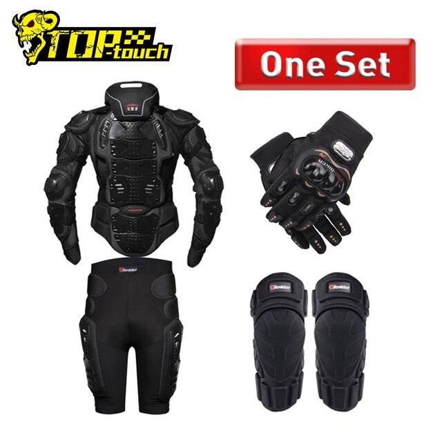 HEROBIKER armadura de protección para motocicleta equipo de protección para Motocross, chaquetas de motos con Protector de cuello