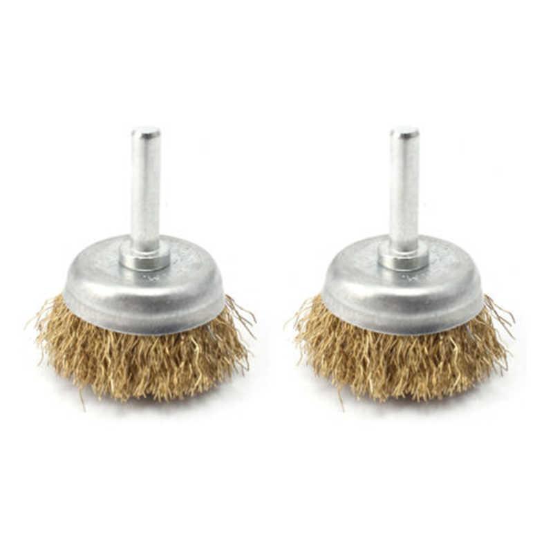 cepillo de limpieza de lat/ón y acero Juego de 35 cepillos de alambre para pulir