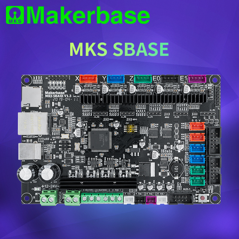 Makerbase MKS SBASE V1 3  32bit control board support marlin2 0 and smoothieware firmware Support MKS TFT screen and LCD