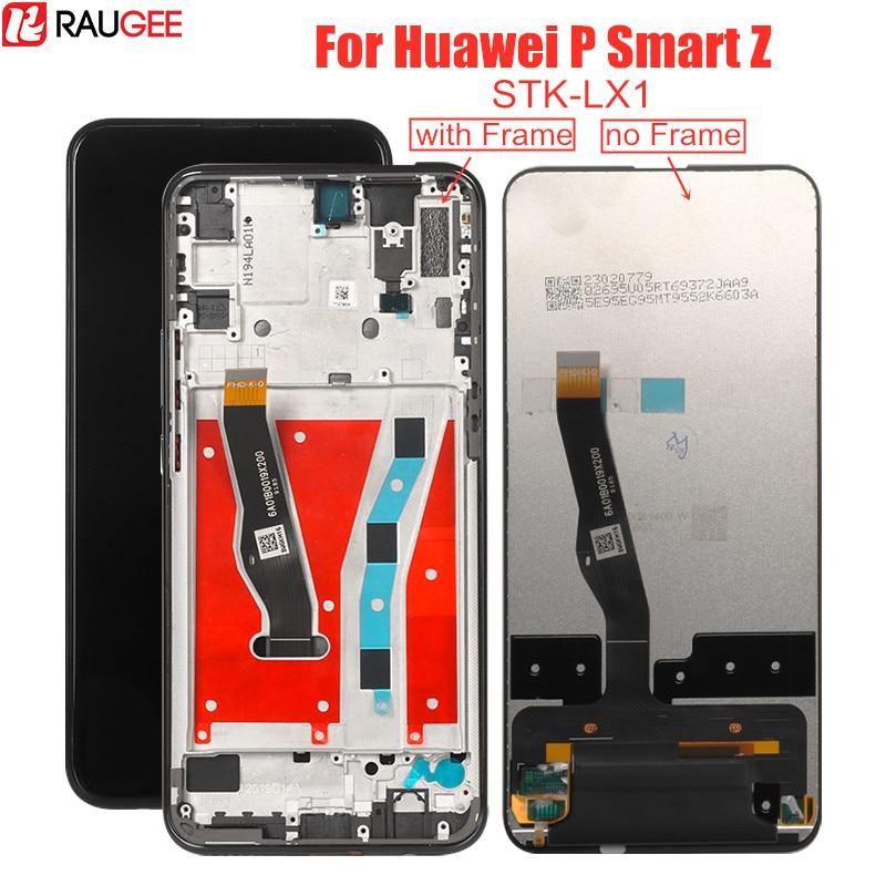 ЖК-дисплей для Huawei P Smart Z STK-LX1 сенсорный ЖК-экран с рамкой сменный дигитайзер для Huawei P Smart Z 6,59 дюймовый экран