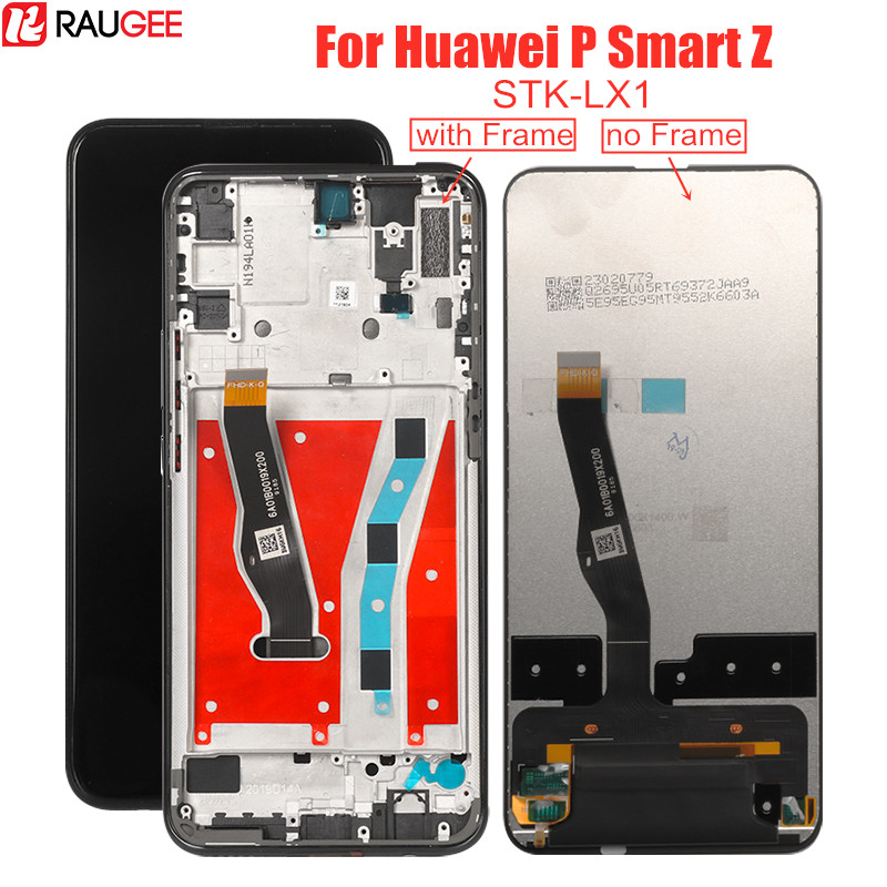 Дисплей с тачскрином Raugee для Huawei P Smart Z STK-LX1, IPS, с рамкой/без рамки