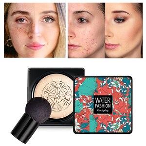 Concealer Air Cushion Foundation Korean Mushroom Head CC Moisturizing Cream Whitening Makeup Cosmetic Waterproof Brighten Face B