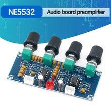 Tone-Board Preamp NE5532 XH-A901 with Treble Bass-Volume-Adjustment Pre-Amplifier-Tone-Controller