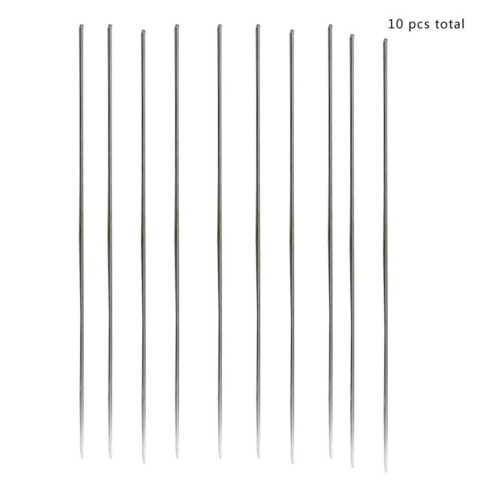 10pcs/set 1.6*230mm Metal Aluminum Magnesium Silver Electrode Welding Rod Flux Cored Wire Brazing Stick Soldering Tool Sale