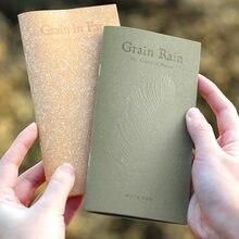 Retro flor grão material especial papel caderno diário agenda bolso bloco de notas planejador livro semanal viagem material escolar sl2844