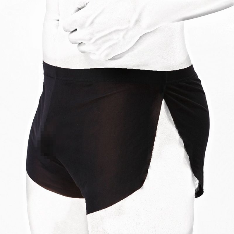 Best Price Men's Boxers Short Health Underwear Mesh Boxers Translucent Breathable Men Sexy Ultra-thin Low Waist Arrow Pants