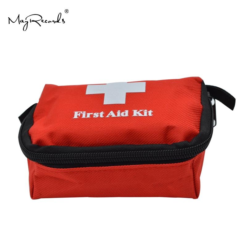 Купить с кэшбэком Mini Portable Cute Emergency Survival Bag Family First Aid Kit Sport Travel kits Home Medical Bag Outdoor Car First Aid Bag
