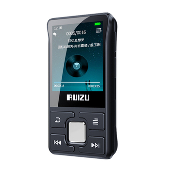 latest Original RUIZU X55 Sport Bluetooth MP3 Player 8gb Clip Mini with Screen Support FM,Recording,E-Book,Clock,Pedometer 1
