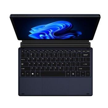 KUU Metal 12 Inch 2K Touch Screen 2 in 1 Laptop Intel Celeron Quad Core LPDDR4 8GB 256GB SSD Storage Windows 10 Dual WiFi Type C 3