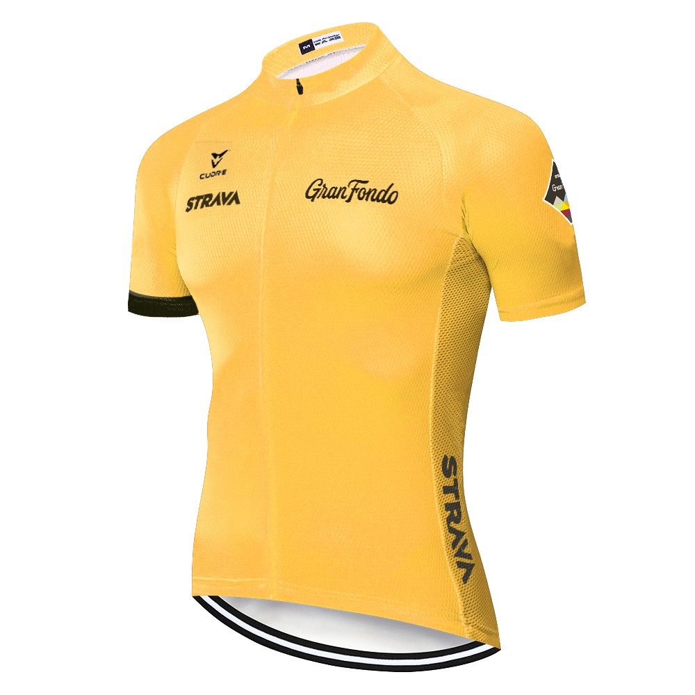 2020 <font><b>STRAVA</b></font> cycling jersey Mountain <font><b>bike</b></font> <font><b>shirt</b></font> quick dry short sleeve maglia ciclismo men's breathable maillot mtb hombre image