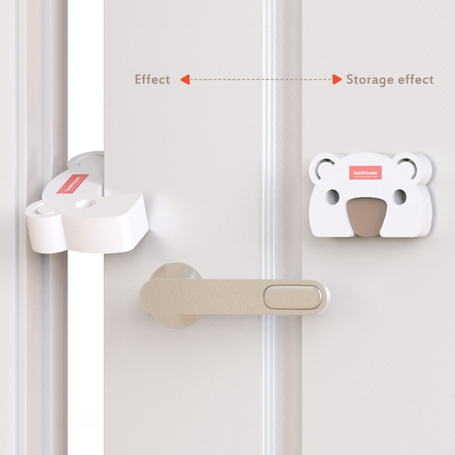 2pc Cartoon Door Stopper Baby Safety Door Block Door Clip Anti-pinch Hand Baby Safety Door Card Baby Safety Accessories Dropship 2