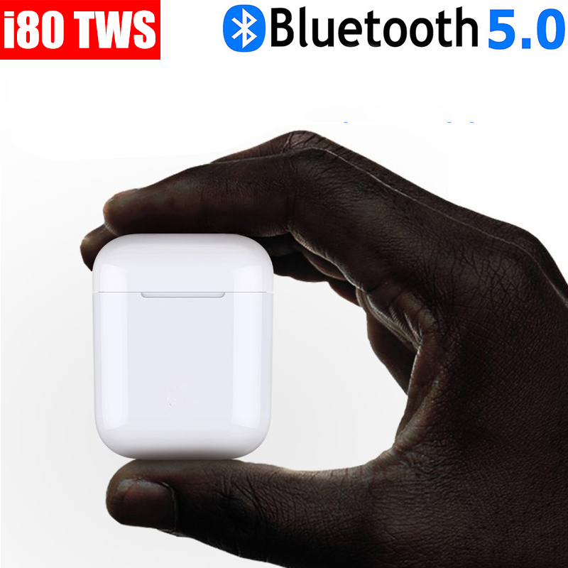 Old town i80 tws <font><b>i80tws</b></font> 80 Wireless Bluetooth Headset 5.0 Touch PK i10 tws i11 i12 i13 i14 i15 i16 i18 i30 i50 i80 i100 image