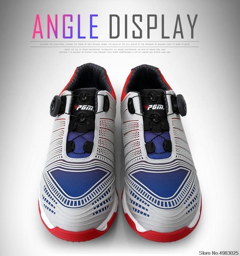 sapatos de golfe antiderrapante spikes atlético tênis