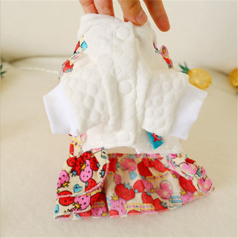 Pet Dog Clothes Warm Dog Green Coat Thicken Pet Clothing For Yorkshire Dogs Costume Puppy Clothes Jackets in Dog Coats Jackets from Home Garden