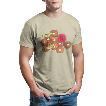 Fried Calamari Rings Italian Food Appetizer Foodie T-Shirt Vintage Funny Short Sleeve Anime Cool T-shirts Tshirts 29891 image