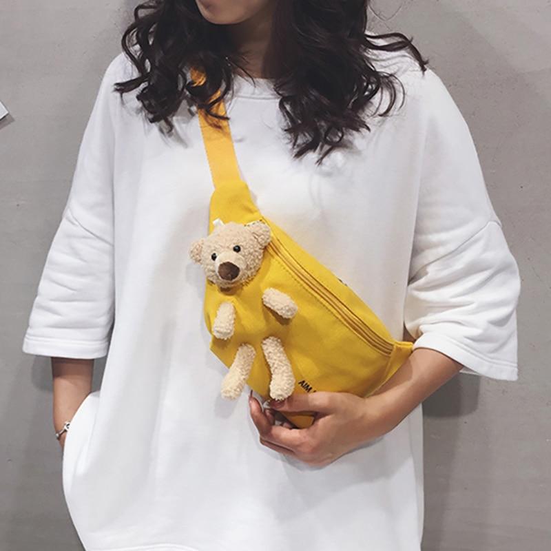 9.9US $  Small Crossbody Bags Chest Phone Purses Women's Waist kidney Bag Fanny Packs Girls Cartoon ...