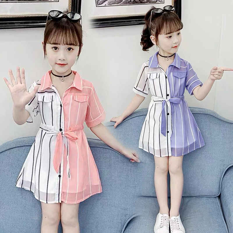 Girls Dresses 2020 Summer Girl Dress Design Baby Girls Dress Kids Dresses For Girls Casual Wear Children Clothing Dresses Aliexpress