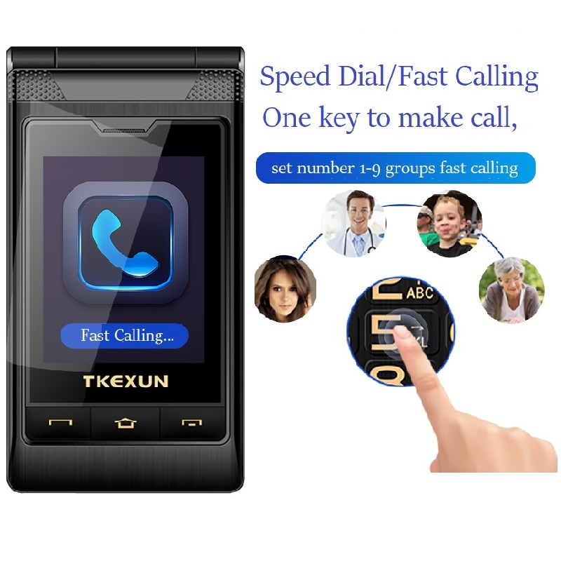 Phones & Telecomm. ... Mobile Phones ... 32708782991 ... 2 ... Tkexun Free Case Dual Screen Touch 2.8