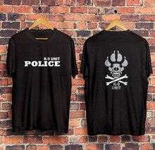 Brasil swat bope forças especiais polícia K-9 cão canino canil unidade 2019 nova marca roupas personalizado impressão especial foto t camisas
