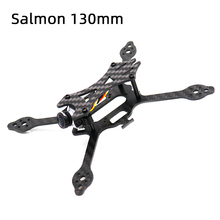 TCMMRC FPV Frame Salmon 130 130mm Wheelbase 3mm Arm Carbon Fiber Stretch X Racing Kit