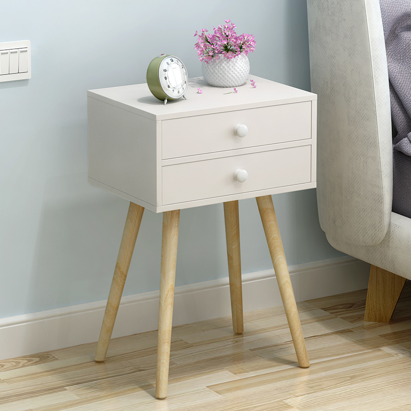 24 Pattern Simple Modern Nordic Wooden Nightstands Living Bedroom Sofa Side Coffee Bedstand Bedside Night Table Cabinet Cupboard