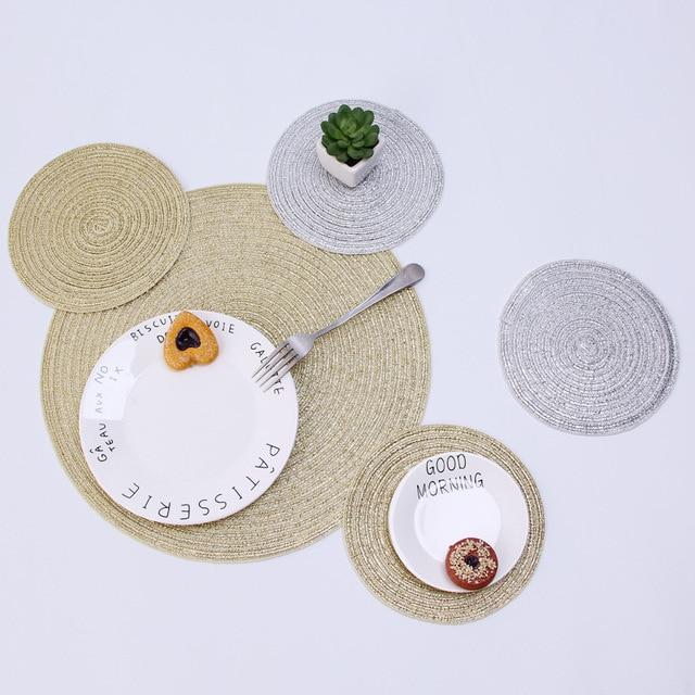 Фото 4 шт полипропиленовые коврики для кухонного стола