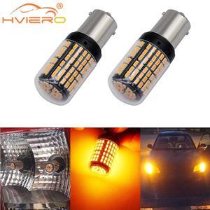2X 1156 BA15S BAU15S 7440 P215W Car Led Tail Bulb Brake Lamp Auto Reverse Lamp DRL Daytime Running Light White Yellow DC 12V 24V(China)
