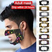 М-а-к с ясным окном видны выражение лица шарф чехол для глухонемых людей пыле-м-а-к Mascarilla м�тушь для лица