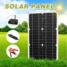 Profesjonalny zestaw paneli słonecznych siatka monokrystaliczny moduł 1 lub 2 Port USB wyłączony z wyświetlaczem LCD regulator ładowania słonecznego 180W 12V tanie tanio CN (pochodzenie) Monocrystalline Solar Panel