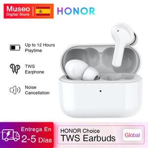 Глобальная версия Honor Choice, настоящие беспроводные наушники TWS, беспроводные Bluetooth наушники с двойным микрофоном, шумоподавление, Bluetooth 5,0