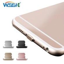 Металлическая крышка пробка для iphone x xr max 8 7 6s plus
