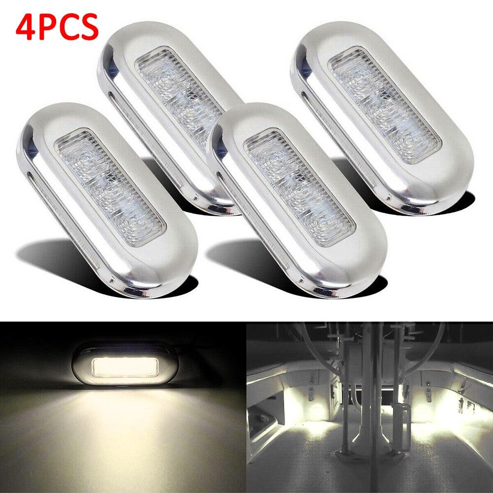 12V 5-LED WATERPROOF BOAT PURPLE COURTESY LAMP LIGHT