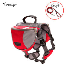 Up Backpack Large Reflective Pet Dog Bag Hound Saddle Travel Camping Small Medium Big Free Gift