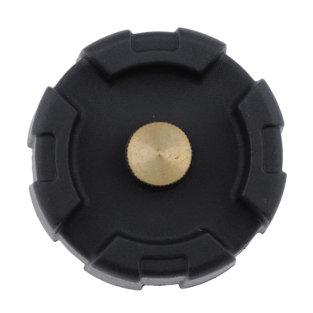 ABS Portable Outboard Fuel Gas Tank Cap Fit For Yamaha 12L 24L Boat Engine - Black
