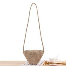 Лето солома сумка 2021 побережье праздник ротанг хлопок корзина сумка через плечо сумки сумка плечо пляж сумка ручная работа плетение большая сумка сумка