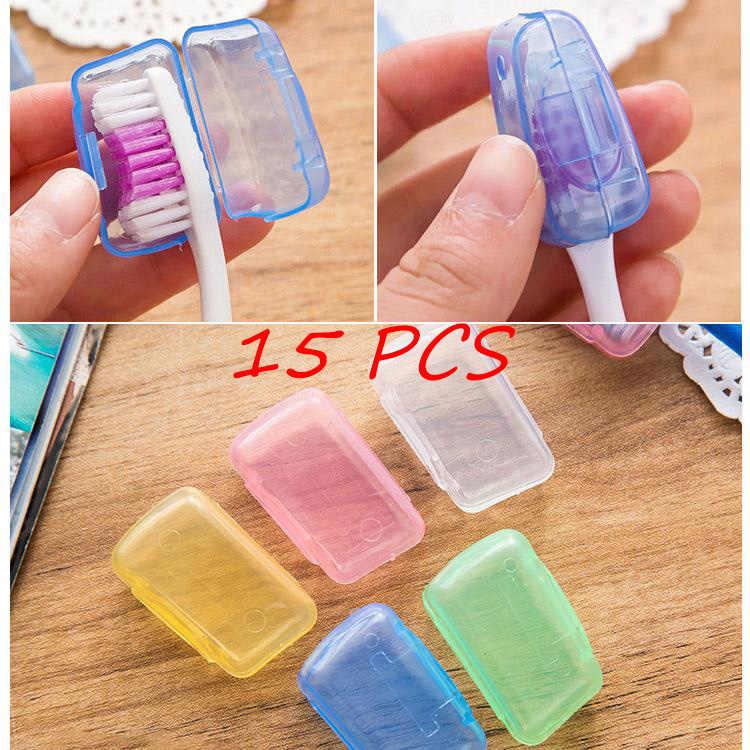 Szczoteczka do zębów Toothbrushbox 5 sztuk uchwyt na zewnątrz głowy zdrowe przenośne podróży łazienka produkty domu & Amp; salon piesze wycieczki