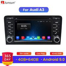 Junsun 4G+64G Android 9.0 For Audi A3 8P/A3 8P1 3-door Hatchback/S3 8P/RS3 Sportback Car Radio Multimedia Player GPS 2 din DVD(China)
