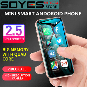 SOYES XS11 3G Mini Smart Android Phone 2.5Inch WIFI GPS RAM 1GB ROM 8GB Quad Core Google Play Facebook Whatsapp Mobile Phone
