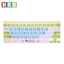 HRH Высококачественная ультратонкая прочная силиконовая накладка на клавиатуру для ноутбука Samsung Chromebook 4 3 XE310XBA XE500C13