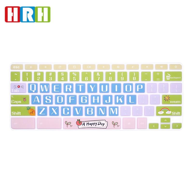 HRH Высококачественная ультратонкая прочная силиконовая накладка на клавиатуру для ноутбука Samsung Chromebook 4 3 XE310XBA XE500C13|Чехлы для клавиатуры|   | АлиЭкспресс