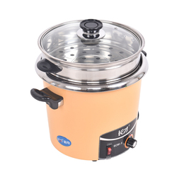 Large Capacity 5L Food Cooker Commercial Stainless Steel Electric Food Steamer 7 Gears Power Timing Heat Preservation Cookers