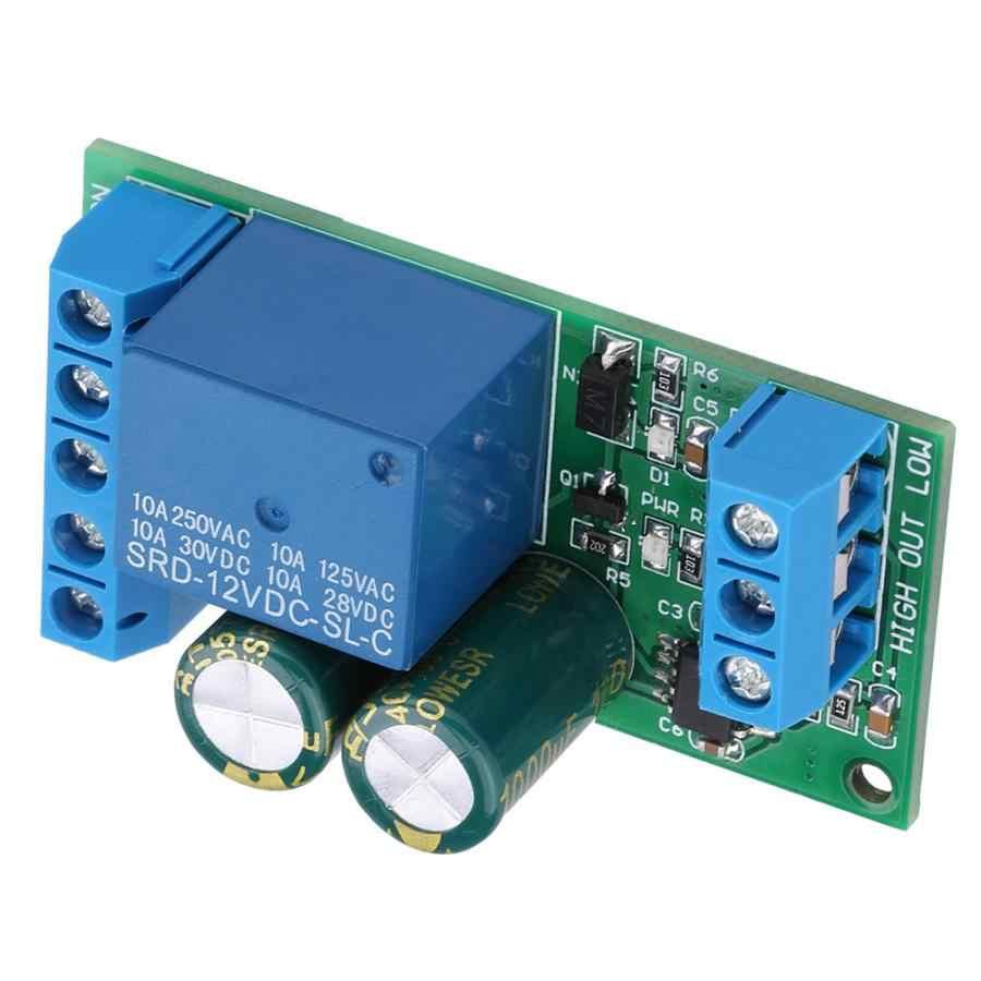12V kontroler poziomu wody automatyczny moduł przełączający płyn do akwarium regulator poziomu cieczy w akwarium,