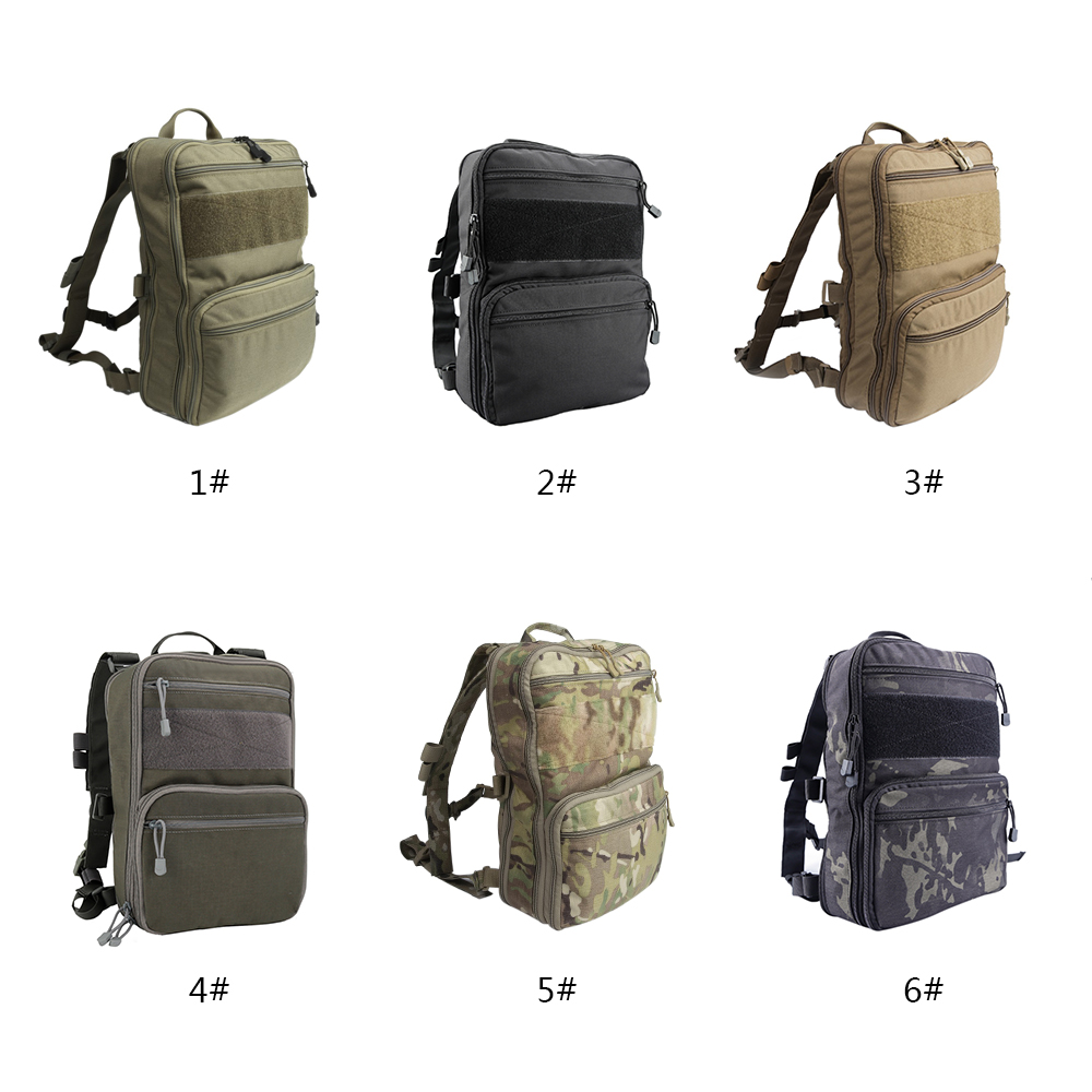 D3 Flatpack Tactic Backpack Outdoor Hunting Bag Hydration Carry Multipurpose Gear Pouch Hunting Travel Hiking Water Bag Pack image