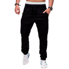 Spring loose sweatpants European and American foreign trade casual cropped trousers elastic waist cross-border tooling trousers