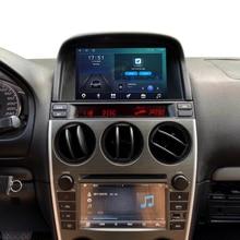 Автомобильный радиоприемник для Mazda 6, GPS-навигация, стерео аудио видео аксессуары, Android 9,0, Wi-Fi, Carplay, DSP, 9 дюймов, 2 din, без CD, DVD-плеера