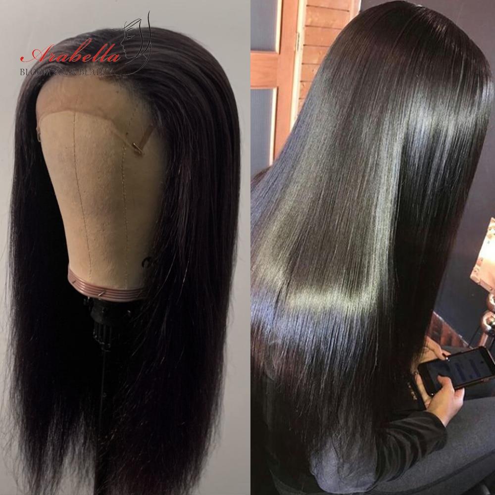 Transparent 4x4 Lace Closure With   Bundles  Straight Hair 3 Bundles With HD Closure Arabella  Hair 6
