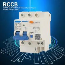 DZ47LE-32 2P+N C63 RCCB Residual Current Circuit Breaker 230V 32A 30mA air switch circuit breaker стоимость