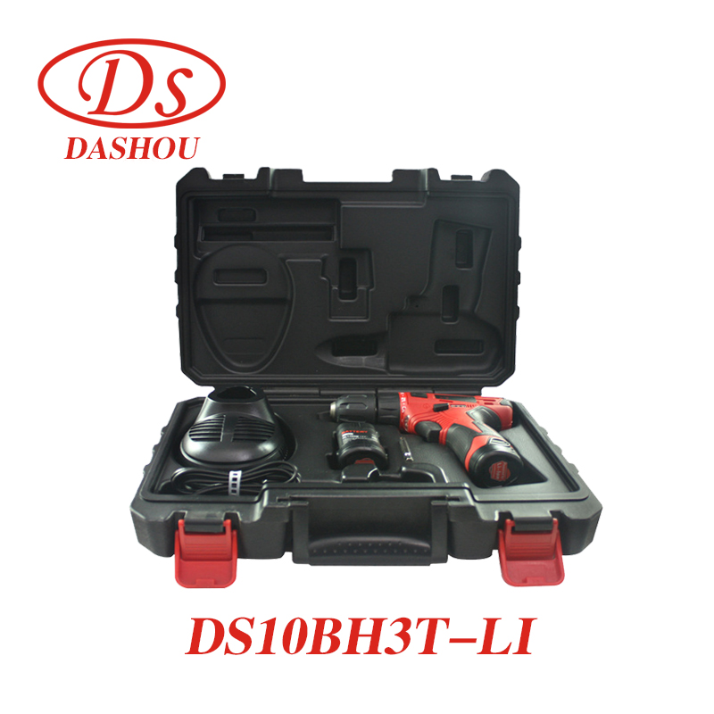 DS 12V Lithium Electric Screwdriver DS10BH3T-LI Two-speed Handheld Drill Rechargeable 1 PC