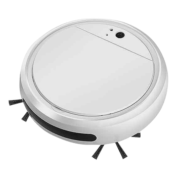 цена на Automatic Sweeping Robot Mini Home Portable Intelligent Vacuum Cleaner UV Lamp Function 4 in 1