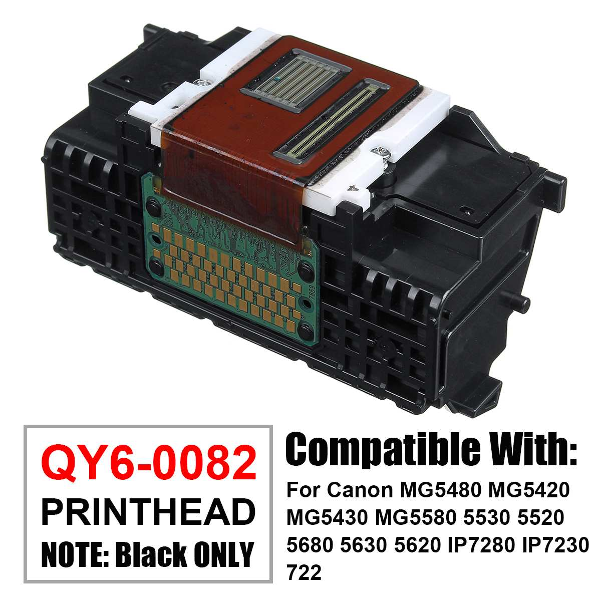 QY6-0082 Printhead Print Head For Canon IP7220 IP7240 IP7250 IP7280 MG5420 MG5450 MG5480 MG5520 MG5550 MG6400 MG6420 MG6450